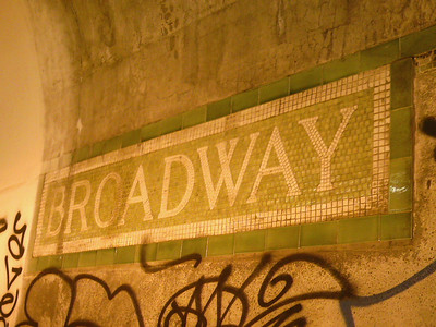 Mosaic Signs of the MBTA