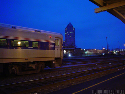 Downtown Raleigh Amtrak Station