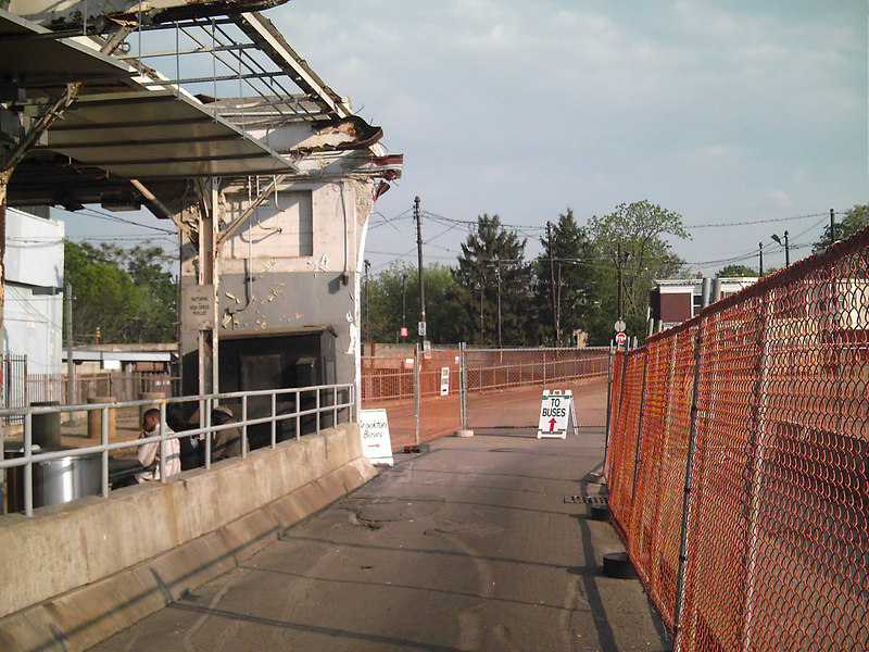 The demo of the Ashmont Station.