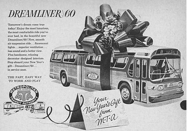 Los Angeles killed the final Pacific Electric Interurban train route in 1963, but not before it convinced the public that service would be so much better with a dedicated quality bus network. Today the 'Dreamliner 60's' are long gone and Los Angeles is vigorously building Light-Rail.
