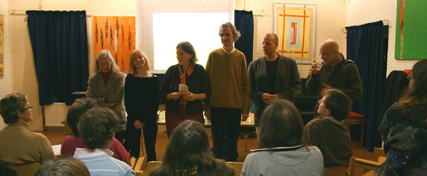 Second evening, the newly formed Transition Town Groningen group presents itself