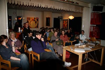 First awareness raising evening, October 30th, 2008