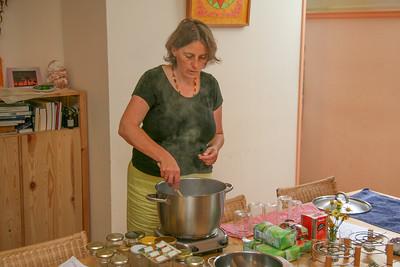 Eveline giving a preservation workshop