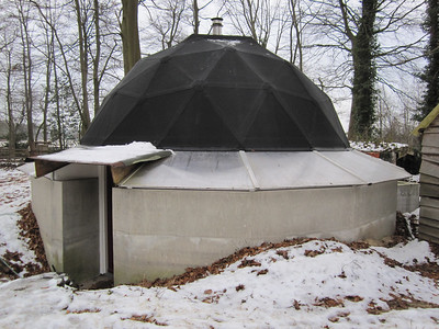 A DIY well-insuleted dome