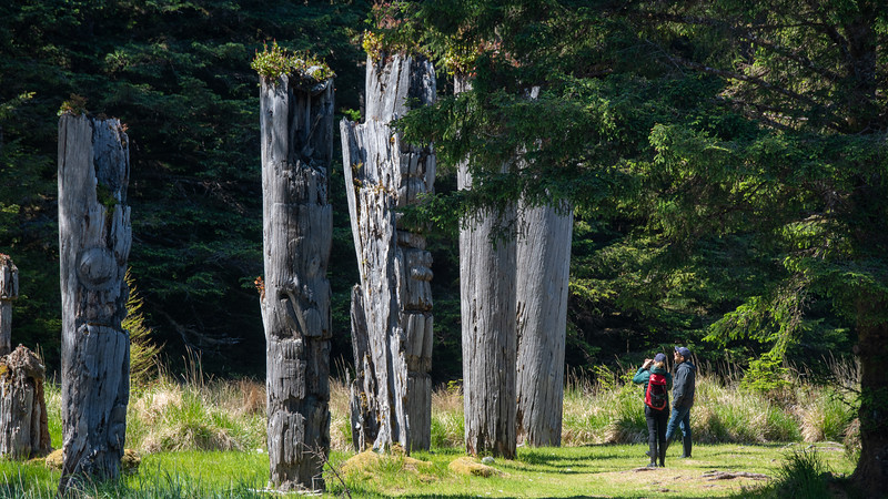 Instead of the Galapagos or Jordan's Petra, explore both wildlife and monumental culture in Haida Gwaii.