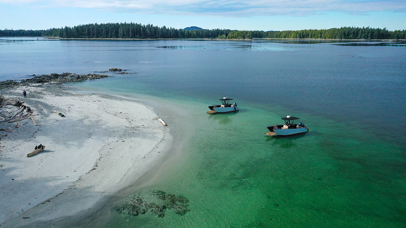 Instead of St. Lucia or Bali, explore the Pacific rainforest of Vancouver Island's NW coast.