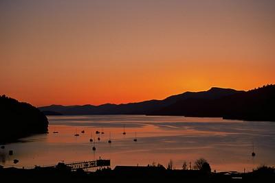 Anakiwa Sunset