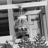 Helicopter at Henry Ford Hospital with Transplant organs