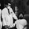 Dr. Heung Oh with patient William Kohlbatz and nurses Denise Crimaldi and Nancy Turz