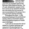 Article about Susan Adelman, M.D.