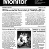 Joseph Madej on the cover on the Monday Monitor