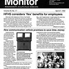 Monday Monitor featuring audiovisual teleconferencing
