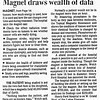 Detroit Free Press: Magnet draws wealth of data