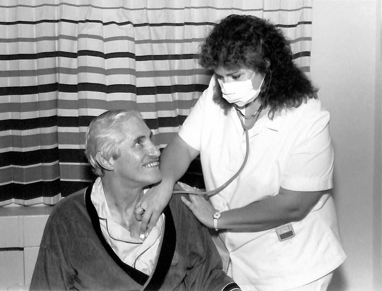 Heart transplant recipient Bill Canfield