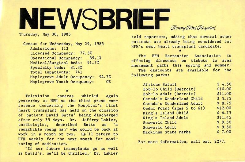 19850530 NewsBrief