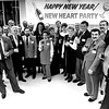 Heart transplant recipients at New Year's party