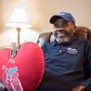 Artificial Heart patient Jonnie Alexander receives a heart transplant. He was photographed and interviewed at his Macomb Township home.