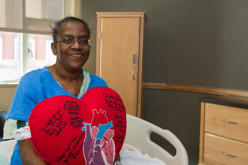 The first heart-liver transplant in metro-detroit.  WXYZ 7 covered the story, interviewing the patient and Dr. Abouljoud. March 2015<br /> Karen Haines