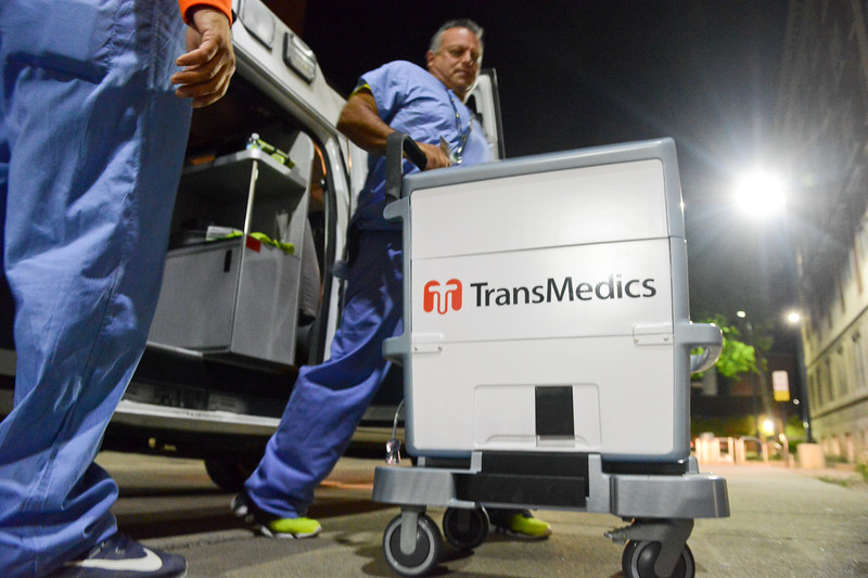 Machine is called Trans Medics, Liver Transplant Perfusion, OCS™ Organ Care System, It is a portable perfusion and monitoring system that maintains the organ in a near physiologic state. The system enables surgeons to per fuse and monitor the organ between the donor and recipient sites. Bill Madek