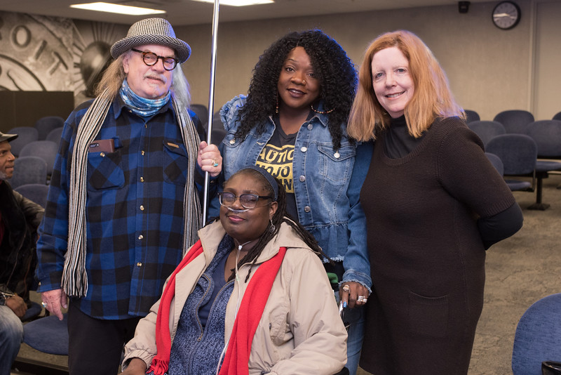 """Robert """"Junior"""" Whitall and his wife, Sugar, are the publishers of Big City Blues magazine. Last summer, Sugar donated a kidney to Junior in a living donor transplant at Henry Ford Hospital."""