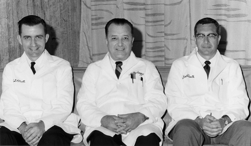 Dr. Joseph P. Eliot, Dr. D. Emerick Szilagyi and Dr. Roger F. Smith