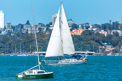 Yacht Cruising and Yacht Moored