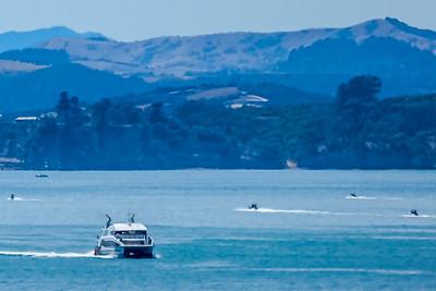 Ferry coming back from Waiheke Island