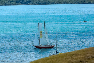 Ketch Cruising by North Head