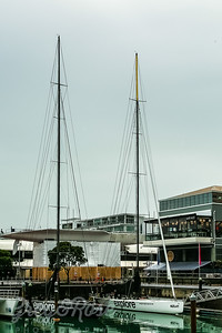 Americas Cup Boats, used to entertain and the big Boat for dipay only