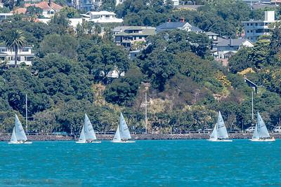 Finn class Yacht racing