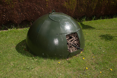 Armoured (and buried) Sentry Box