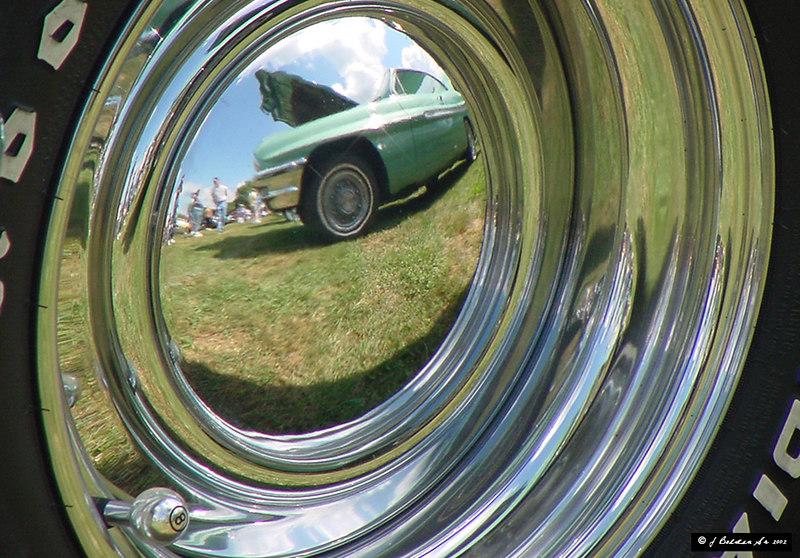 Taken at 17Th Annual Tioga Region Car Show 2002 Owego NY.<br /> Taken with a Sony Mavica FD97.