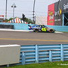 Jimmie Johnson during hot laps