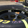 Nationwide Series Tire with rim markings