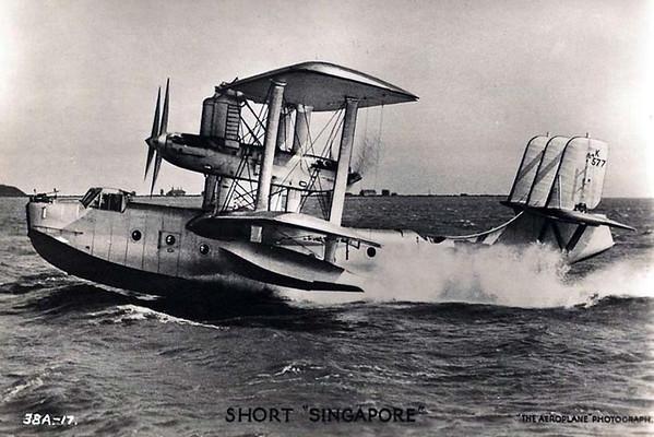 """Short """"Singapore"""" Flying Boat"""