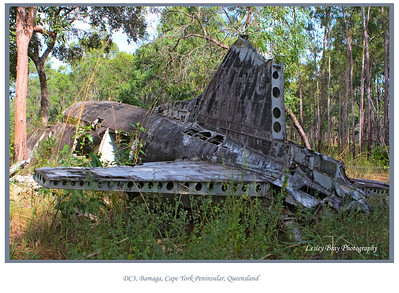 Crashed DC3 Aircraft
