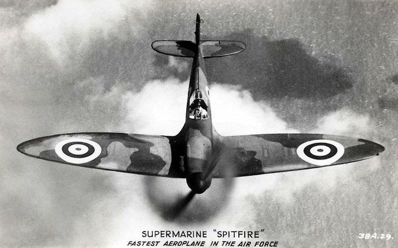 "A Supermarine ""Spitfire"""
