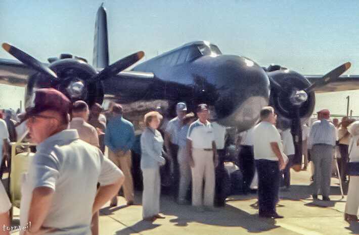 08-01-4 A20 at Dad's 409th Bomber Reunion