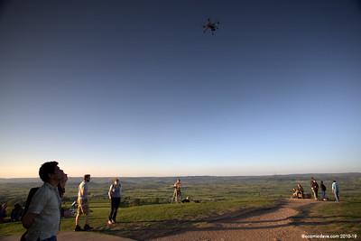 Drone at Glastonbury Tor 003