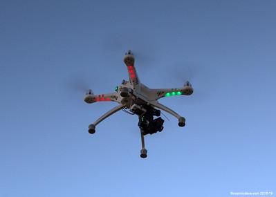 Drone at Glastonbury Tor 001