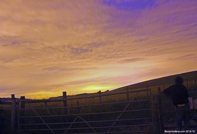 Skywatch at Knapp Hill, Wiltshire