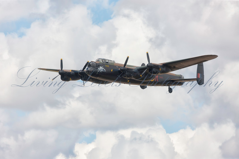 Avro Lancaster PA474 City of Lincoln at RIAT 2010, Fairford.