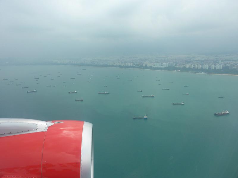 Ships at Singapore