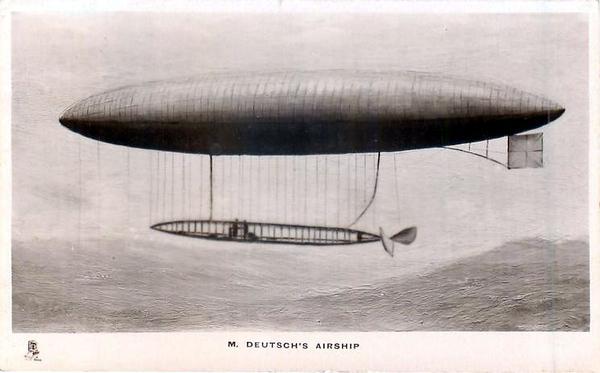 M Deutsch's Airship.