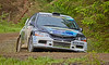 Mitsubishi Evo 9 at the Argyll Rally - 24 June 2017
