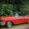 Old Chevrolet Bel Air Convertible