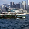 Star Ferry Crossing Victoria Harbor, Hong Kong