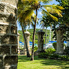 Boat House Pillars, Nelson's Dockyard, English Harbour, Antigua