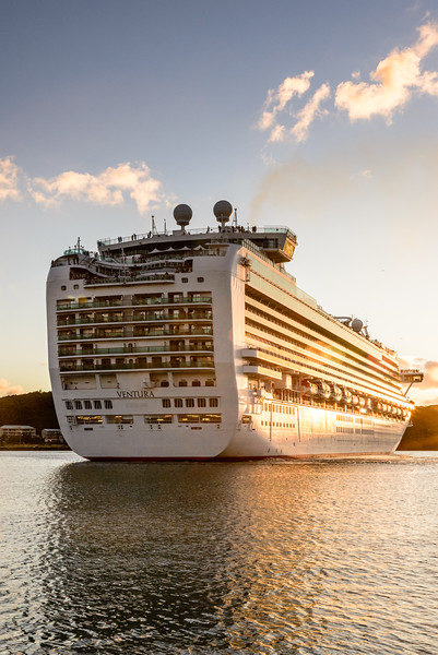 P&O Cruises Ventura, Saint John's Harbour, Antigua