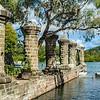 Boat House Pillars, Nelson's Dockyard, English Harbour, Antigua
